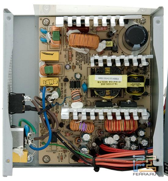 Внутреннее устройство блока ETG ESP-500-12H-A