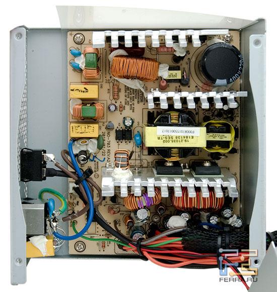 Внутреннее устройство блока ETG ESP-550-12G-A