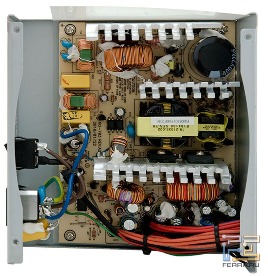 Внутреннее устройство блока ETG ESP-550-12H-A