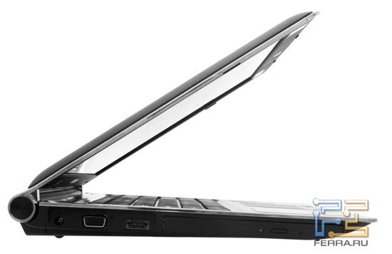 Ноутбук в открытом виде