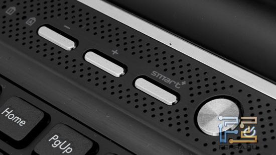 Аппаратные кнопки Gigabyte P2532