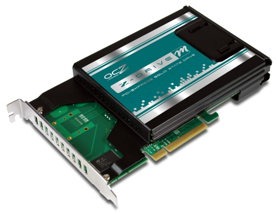 Z-Drive - первый PCIe SSD от компании OCZ