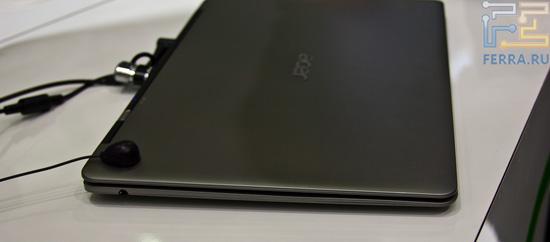 Acer Aspire S3 в закрытом виде