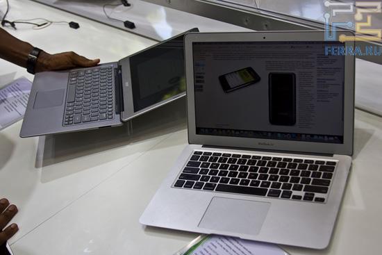 Acer Aspire S3 и MacBook Air