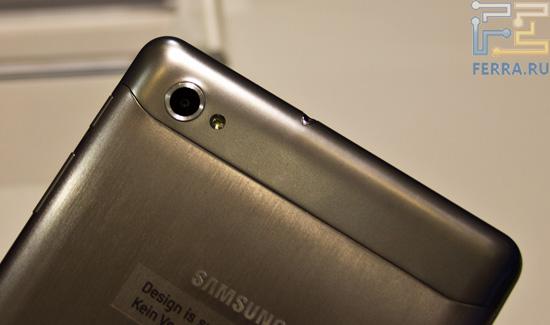 Камера Samsung Galaxy Tab 7.7