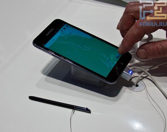 Samsung Galaxy Note и стило для рукописного ввода