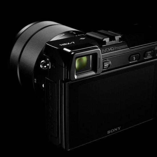 Sony NEX-5N – электронный OLED-видоискатель