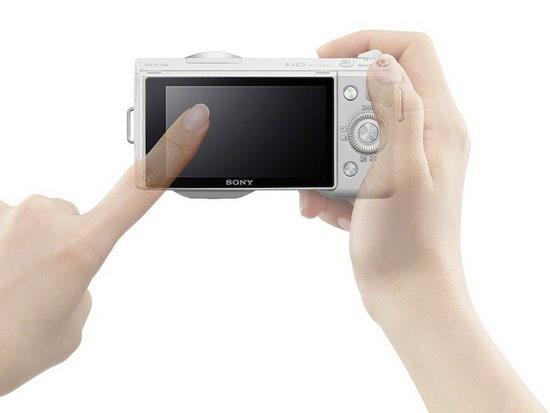 Sony NEX-5N – сенсорный экран