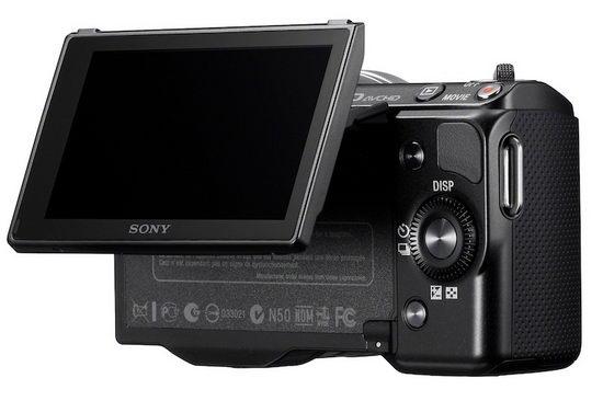 Sony NEX-5N – вид сзади