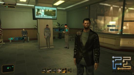 Сами по себе большинство моделей персонажей Deus Ex: Human Revolution оставляют не самое приятное впечатление