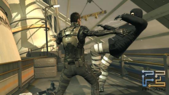 В рапиде расправы Адама над врагами в Deus Ex: Human Revolution особенно красивы