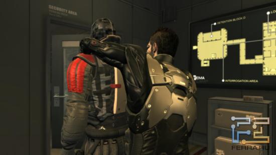 За более чем двадцать часов игры в Deus Ex: Human Revolution, не довелось увидеть повторения приемов у Адама Дженсена - каждый раз герой