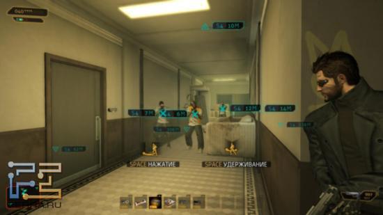 С героем бандиты в Deus Ex: Human Revolution чаще всего не церемонятся - после пары предостережений открывают огонь