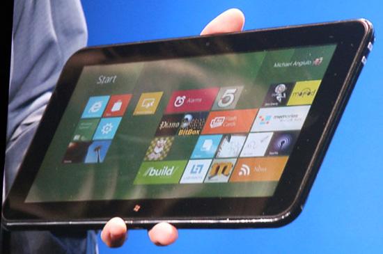 Планшет на Windows 8. Источник — techreport.com