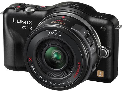 Panasonic Limix GF3 с новым объективом