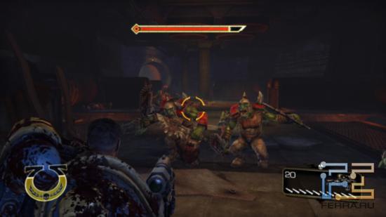 Порой герой Warhammer 40.000: Space Marine заставляет вспомнить персонажей из Dragon Age, частенько предстающих в образе