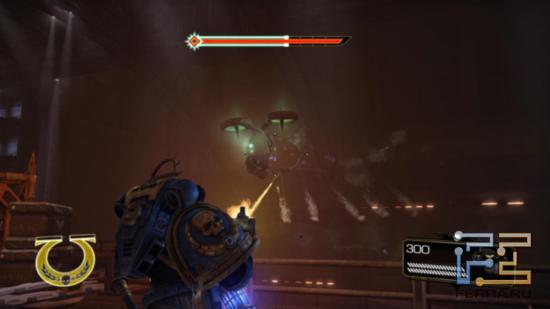 У зеленокожих в Warhammer 40.000: Space Marine есть даже своя техника - например, вот такой боевой дрон
