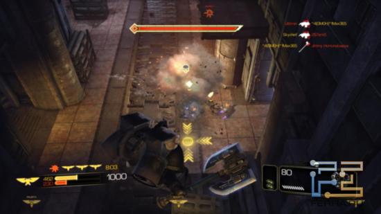 В мультиплеере Warhammer 40.000: Space Marine на джетпаке можно взлетать сколько угодно
