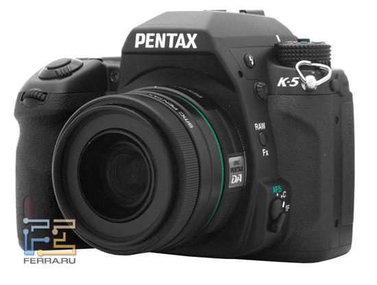 Pentax K-5. Общий вид