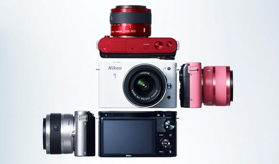 Все варианты расцветки Nikon 1 J1