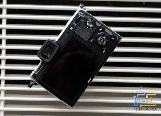 Экран и основные органы управления Nikon 1 V1