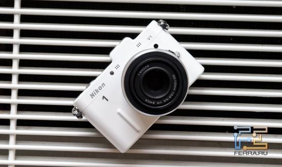 Белый Nikon 1 V1 - мой фаворит