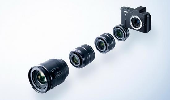 Nikon 1 V1 и четыре объектива