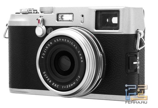 Общий вид Fujifilm FinePix X100