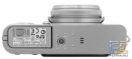 Нижняя часть корпуса Fujifilm FinePix X100