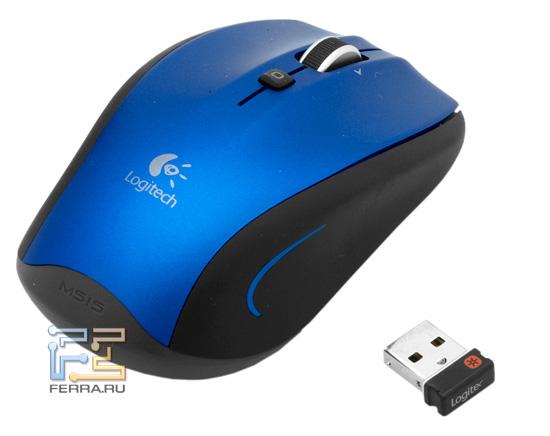 Беспроводная мышь Logitech M515
