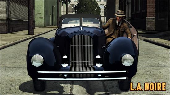 Кто бы не хотел на таком автомобиле прокатиться? В L.A. Noir это возможно