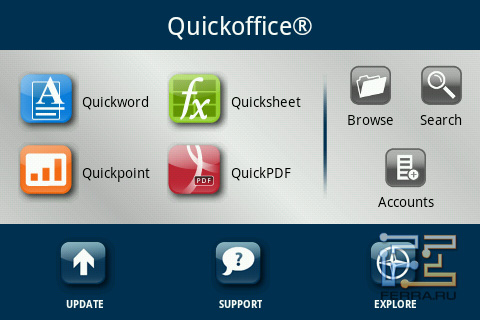 Quickoffice на Highscreen Cosmo Duo