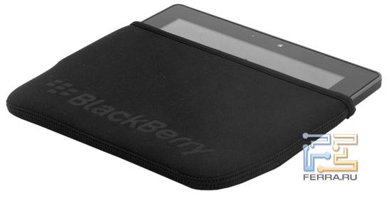 BlackBerry Playbook в чехле