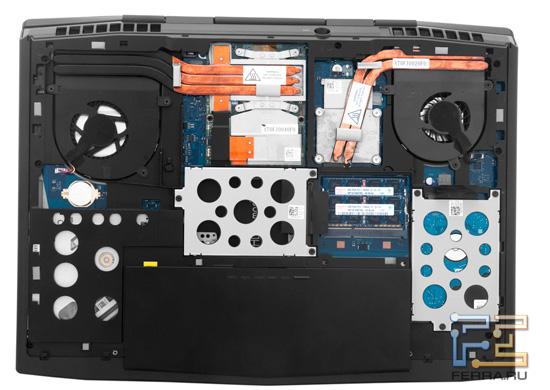 Возможности обновления Dell Alienware M17x R3