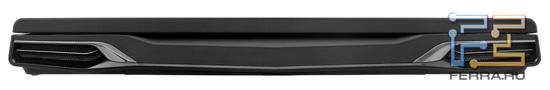 Передний торец Dell Alienware M17x R3