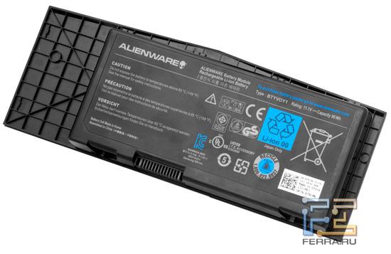 Аккумулятор Dell Alienware M17x R3