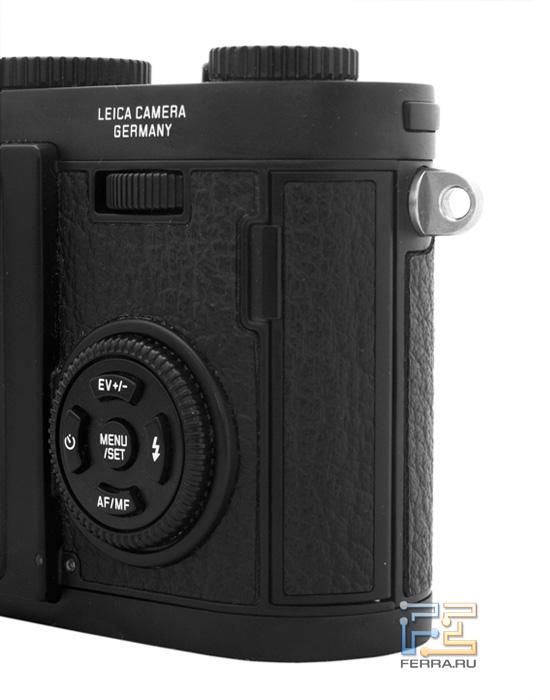Leica X1: джойстик, диск и колесико управления