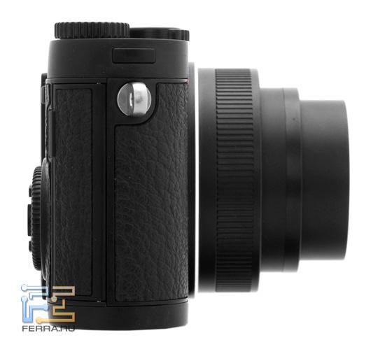Leica X1 во включенном состоянии