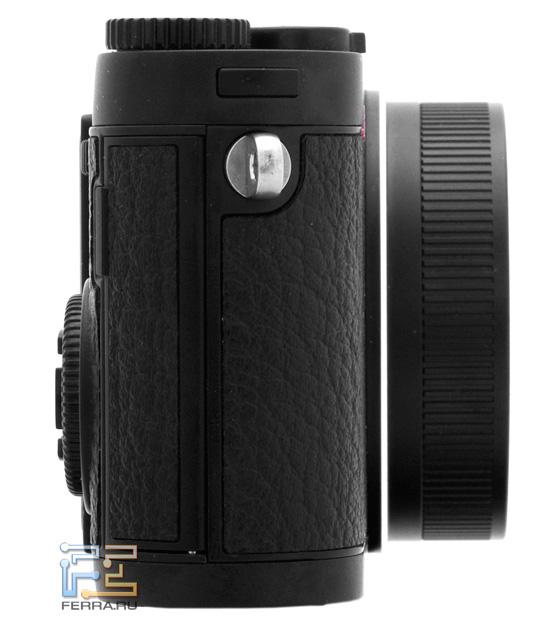 Leica X1 в выключенном состоянии