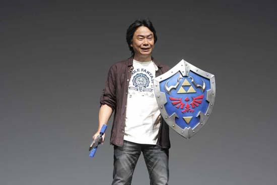 На Tokyo Game Show 2011 Миямото был явно в ударе