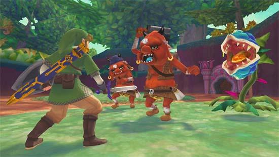 Tokyo Game Show 2011 - The Legend of Zelda: Skyward Sword уже шестнадцатая по счету экшен/адвенчура о приключениях героя в зеленом колпаке