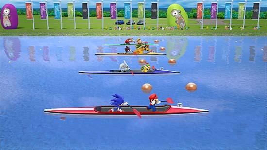 Создатели аркады Mario & Sonic at the London 2012 Olympic Games на Tokyo Game Show 2011 неоднократно подчеркивали, что эта игра будет посвящена настоящим Олимпийским играм, которые пройдут в столице Великобритании