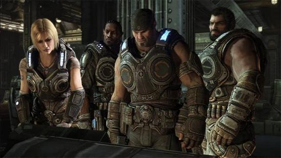 Вот они, спасители человечества по версии Gears of War 3