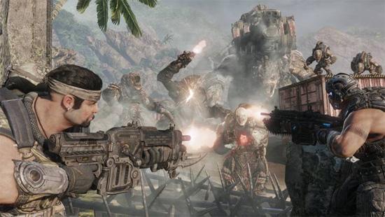 В некоторых местах Gears of War 3 напоминает фильм