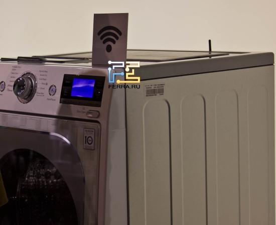 Стиральная машина LG Smart ThinQ с Wi-Fi