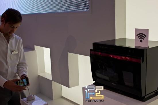 Микроволновая печь с Wi-Fi