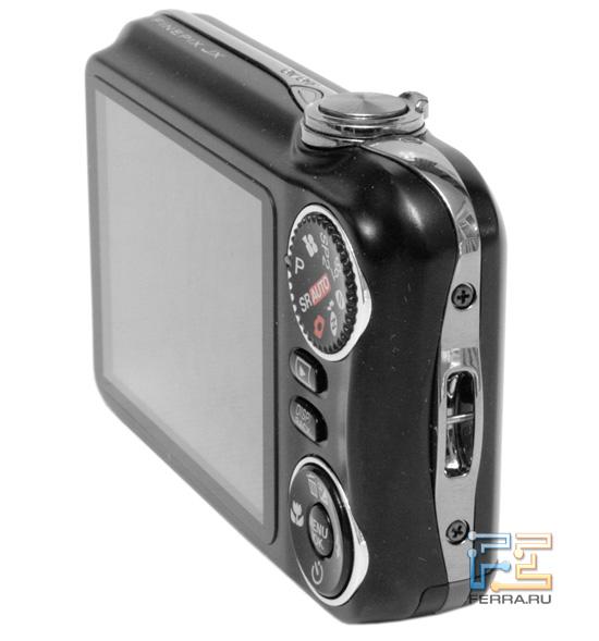 Правый торец Fujifilm FinePix JX350