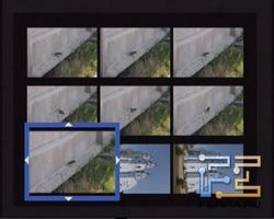 Fujifilm FinePix JX350. Матрица миниатюр 3х3