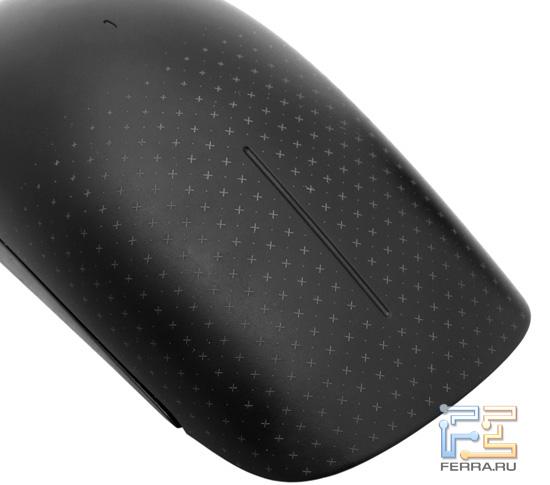 Панель Microsoft Touch Mouse крупным планом