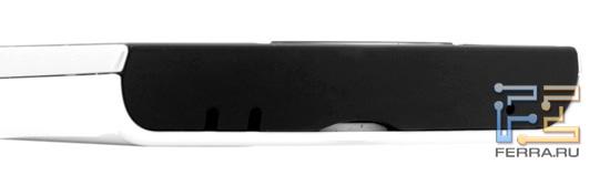 Нижний торец корпуса Sony Ericsson Xperia ray